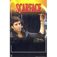 ''Scarface, In Chair'' by Anon Movie & TV Posters Art Print (36 x 24 in.)