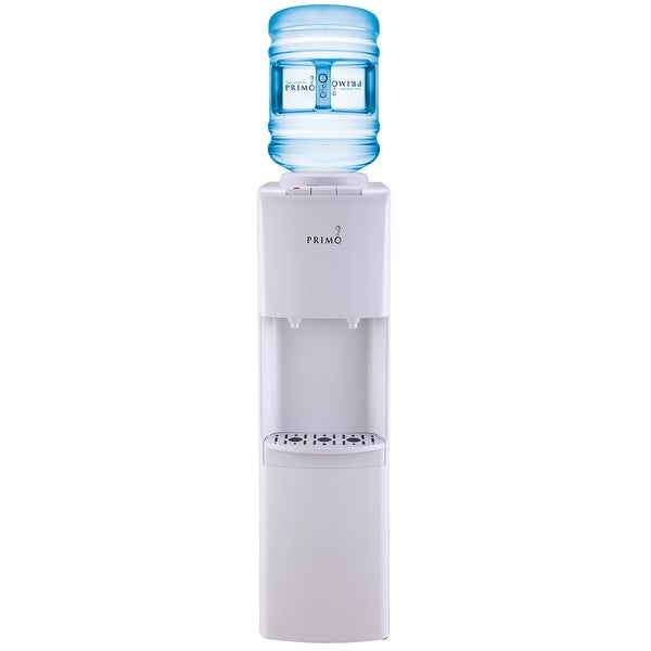 cae87eb924 Shop Primo 601132 Top Loading White Hot/Cold Water Dispenser - Free  Shipping Today - Overstock - 15012056