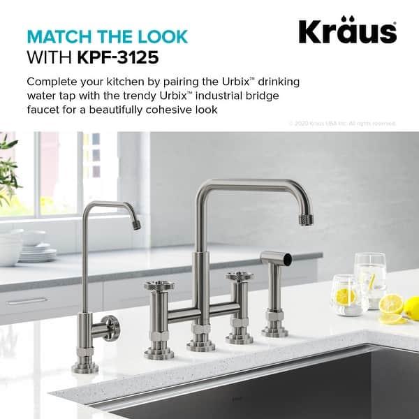 Kraus Ff 101 Urbix Drinking Water Dispenser Beverage Kitchen Faucet Overstock 31730691