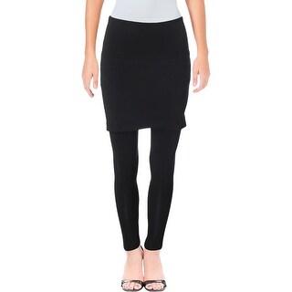 Lysse Womens Leggings Ruched Skirt