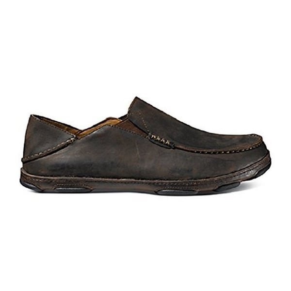Olukai Men's Moloa Dark Wood/Dark Java Sneaker 11.5 D (M)