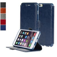 NAVOR Ultra Slim Protective Flip Wallet Case for iPhone 6 Plus / 6S Plus [5.5 Inch] IP6PT