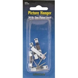 Prosource PH-121030-PS Picture Hangers, Steel, 30 Lbs