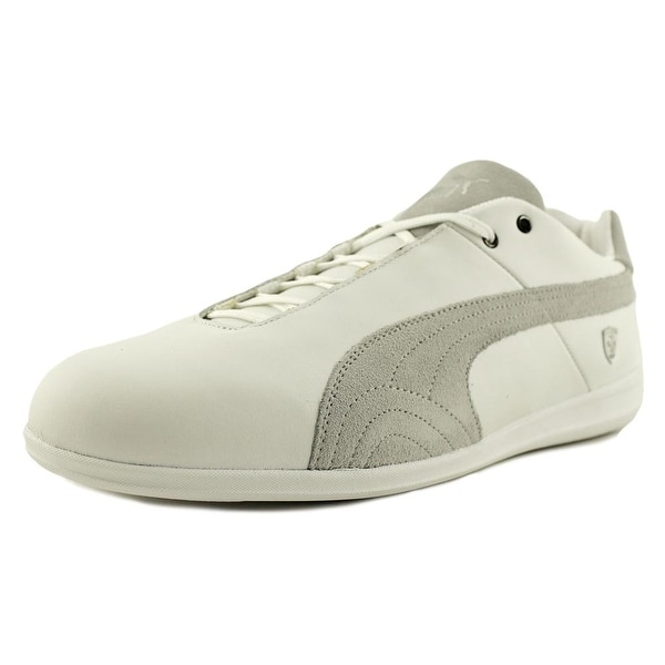 531bed2e7d44 Shop Puma Future Cat LS SF Men Puma White-Gray Violet Sneakers Shoes ...