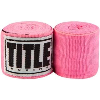 "Title Boxing 120"" Elite Mexican Handwraps - Neon Pink"