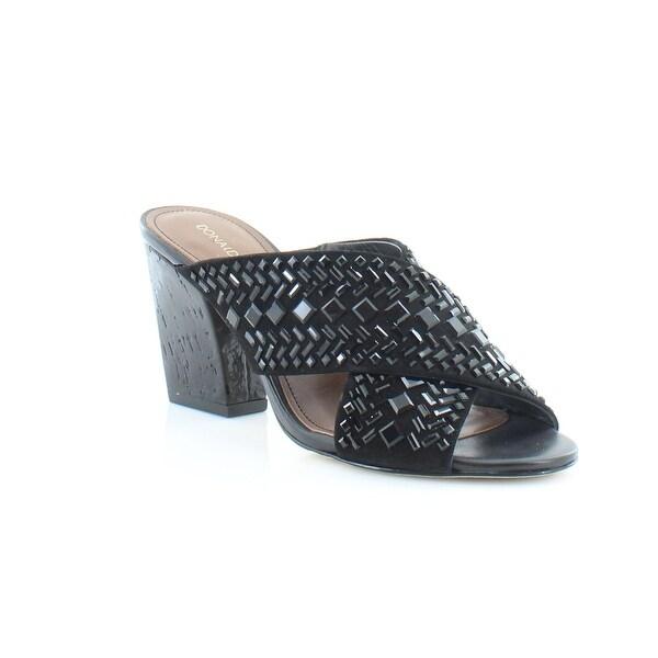 Donald J Pliner Gilian Women's Sandals & Flip Flops Black - 6