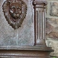 Sunnydaze Imperial Lion Outdoor Wall Fountain - Thumbnail 7