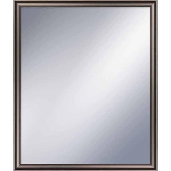 """PTM Images 5-1260 22-1/2"""" x 18-1/2"""" Rectangular Framed Mirror - Champagne"""