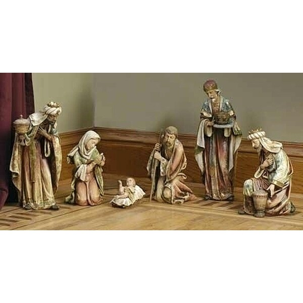 "20"" Joseph's Studio Religious Christmas Nativity Scene 6-Piece Set"