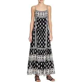 Joie Womens Maxi Dress Silk Printed