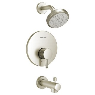 American Standard TU064.508  Serin Tub and Shower Trim Package with 1.75 GPM Multi Function Shower Head