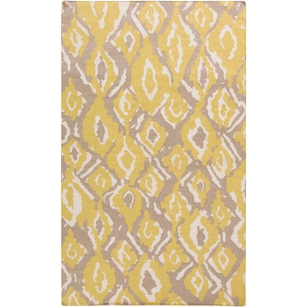 Hand-woven Keighley Reversible Wool Area Rug