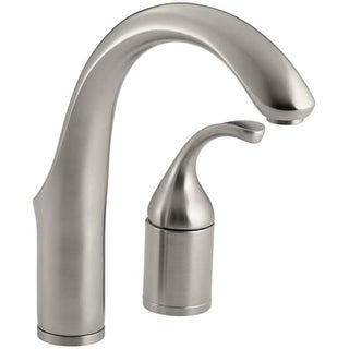 Kohler K-10443 Single Handle Bar Faucet with Metal Lever Handle from the Forte Collection
