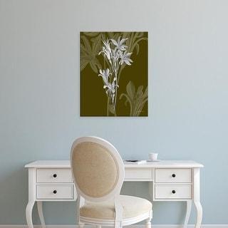 Easy Art Prints James Burghardt's 'Jewel Stems II' Premium Canvas Art