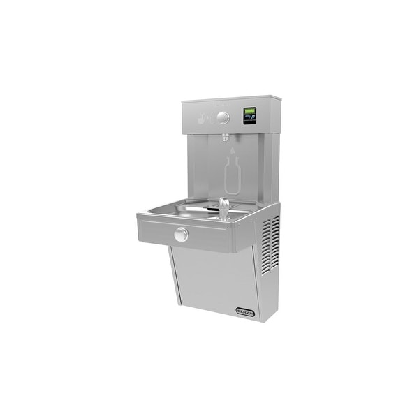 Elkay VRC8WSK EZH2O ADA Wall Mount Refrigerated Drinking Fountain and  Bottle Filling Station with Vandal Resistant Bubbler