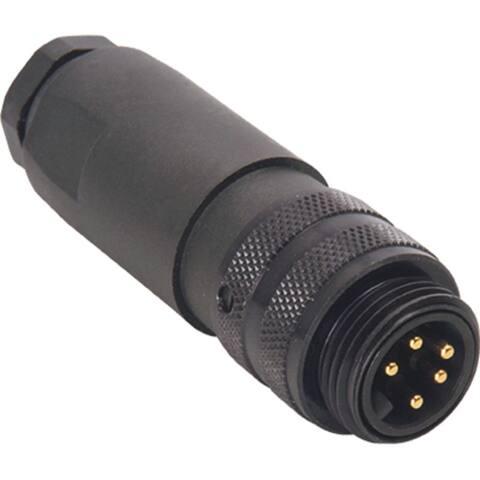 Field Connector, Male Mini, Straight