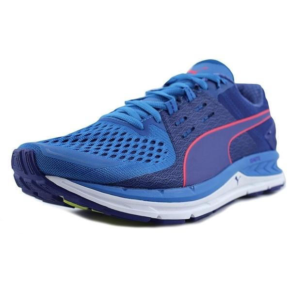Puma Speed 1000 S Ignite Men Round Toe Synthetic Blue Running Shoe