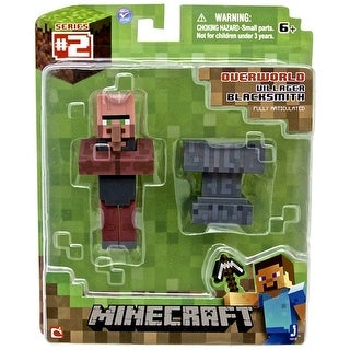 "Minecraft Overworld Villager Blacksmith 3"" Figure"