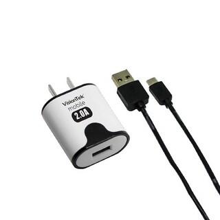 """""""VisionTek Micro USB 2 AMP Charger 5 V AC Adapter"""""""