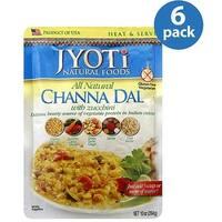 Jyoti Cuisine India Channa Dal with Zucchini - Case of 6 - 10 oz.