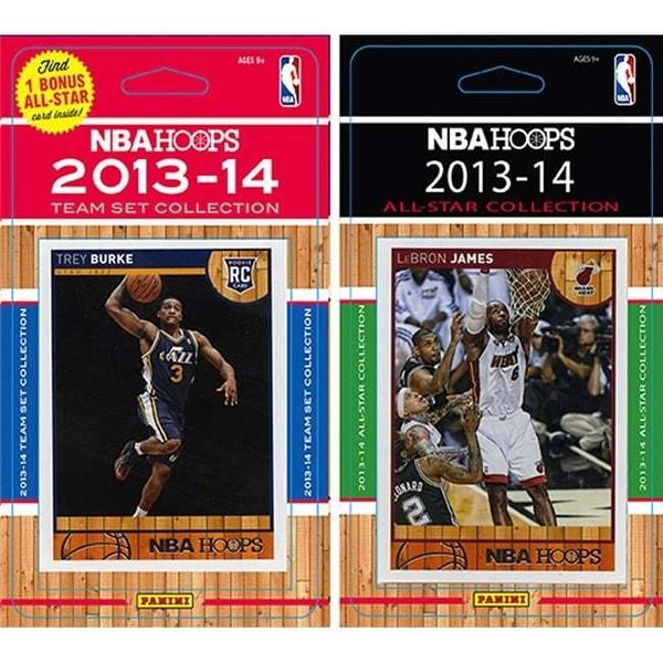 8beda84f43c0 Shop NBA Utah Jazz Licensed 2013-14 Hoops Team Set Plus 2013-24 Hoops -  Free Shipping On Orders Over  45 - Overstock - 23729893