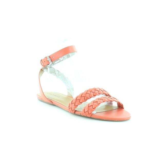Coach Scarlett Women's Sandals & Flip Flops Deep Coral