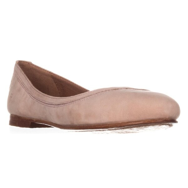FRYE Carson Ballet Flats, Blush - 8 us