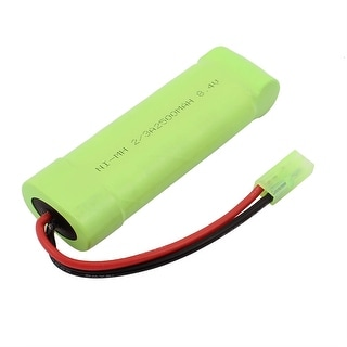 DC 8.4V 2500mAh Rechargable Ni-MH AAA Battery Pack for RC Airplane Aircraft