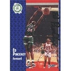Ed Pinckney Boston Celtics 1991 Fleer Autographed Card This item comes with a certificate of authe