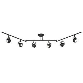 Vaxcel Lighting SP56666 Pixie 6 Light 50 Watt Each Segmented Halogen Accent Light Fully Adjustable