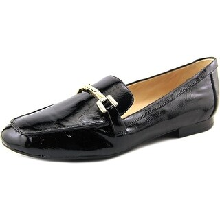 Nine West Last Call Women Round Toe Synthetic Black Loafer