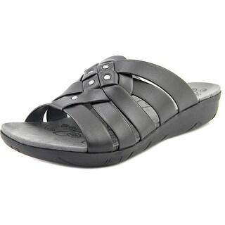 Baretraps Jaydin Open Toe Synthetic Slides Sandal