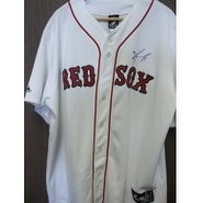 Signed Ortiz David Boston Red Sox Replica Boston Red Sox Jersey Size 2XL autographed