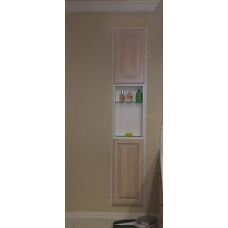 Baldwin 78 Inch Natural Pine Recessed Pantry Storage Cabinet 15084852 Shopping