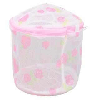 Unique Bargains Laundry Bra Underwear Washing Protect Zipped Mesh Bag Basket