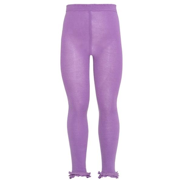 Kellys Kids Baby Girl XS 4-6Y Purple Cotton Spandex Tights