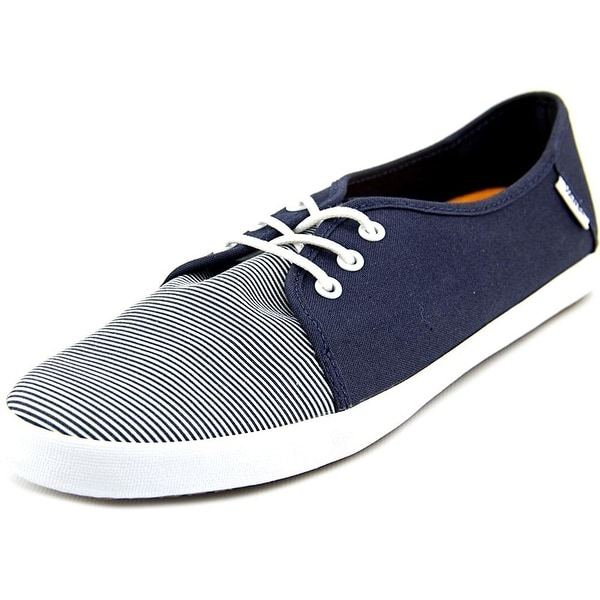 Vans Womens Tazie SF Canvas Low Top Lace Up Fashion Sneakers