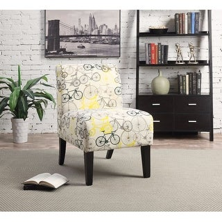 Accent Chair, Pattern Fabric