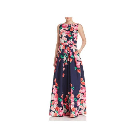Eliza J Womens Formal Dress Floral Ball Gown
