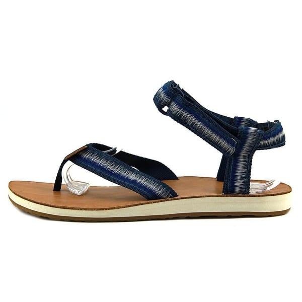 845147cbd8685 Shop Teva Original Sandal Ombre Women True Blue Sandals - Free ...