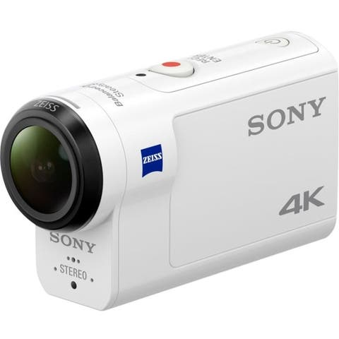 Sony audio/video fdr-x3000r 4k action cam wlive view rmote