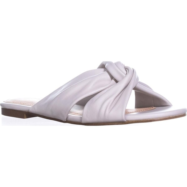 Nanette Lepore Vanda Flat Sandals, Ice