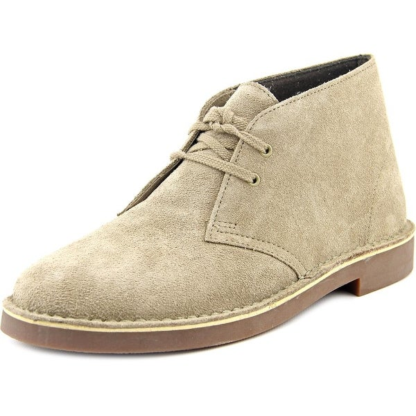 Clarks Narrative Acre Bridge Women Round Toe Suede Nude Chukka Boot