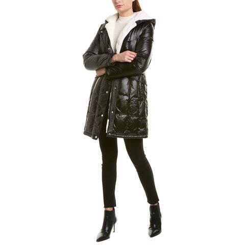 Via Spiga Shiny Long Coat