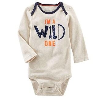 OshKosh B'gosh Baby Boys' Wild One Bodysuit - 6 Months