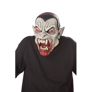 Blood Fiend Vampire Mens Animotion Mask - one adult size