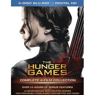 Hunger Games Collection - Blu-ray Disc