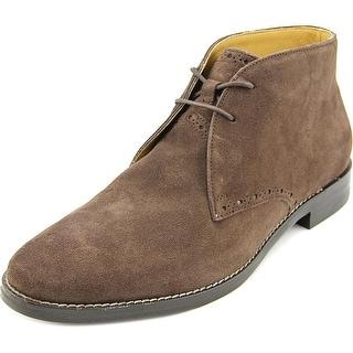 Cole Haan Cambridge Chukka Men Round Toe Suede Brown Chukka Boot