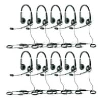 Jabra UC Voice 550 Duo Stereo Corded Headset w/ Noise Reduction System (10 Pack)