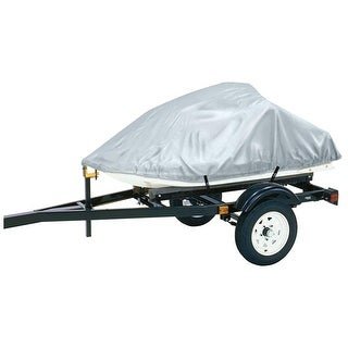 Dallas Manufacturing Co Polyester Personal Watercraft Cover B - Silver Polyester Personal Watercraft Cover B - Silver